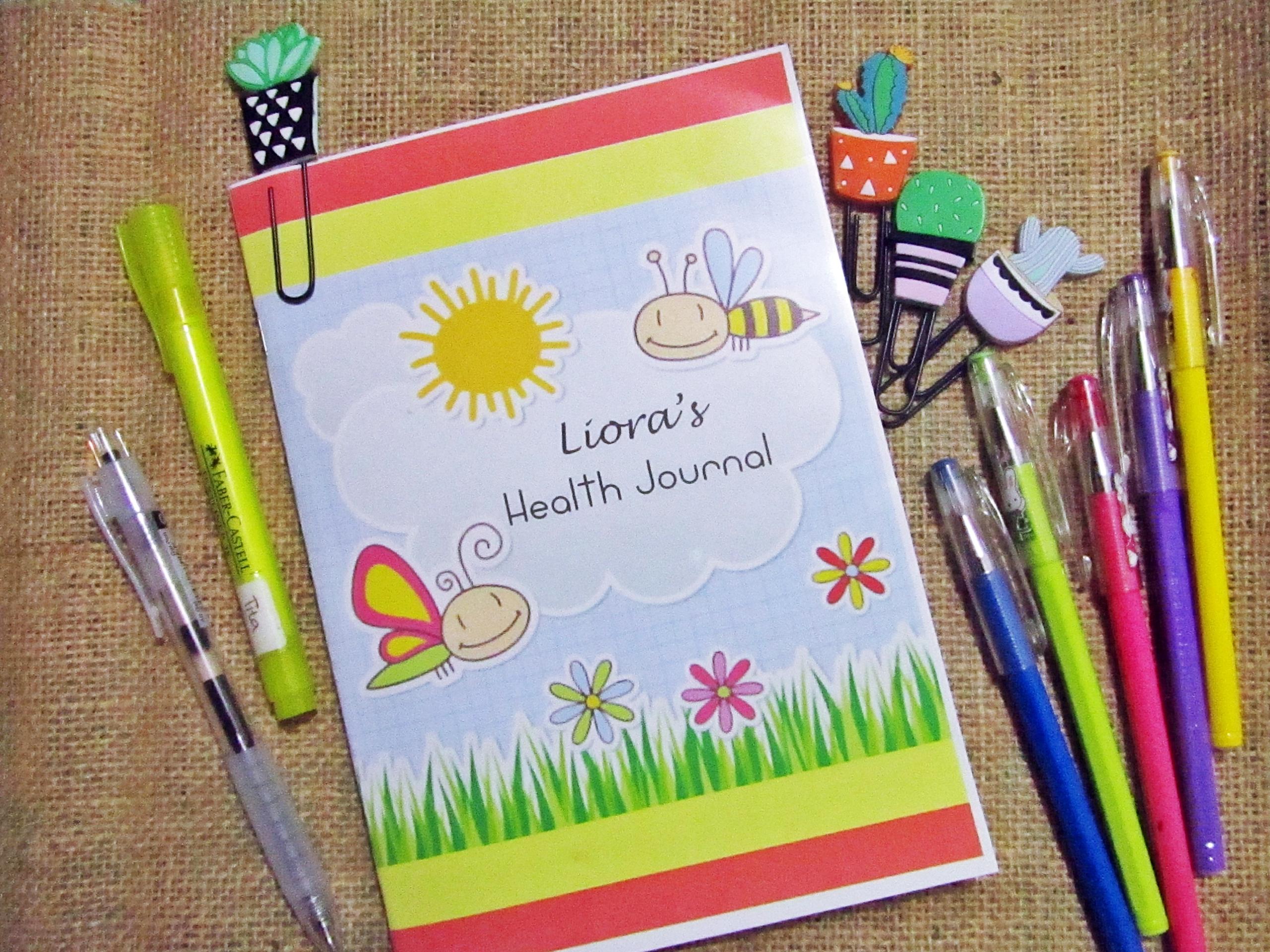 DIY: Liora's Health Journal